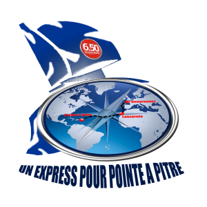 Logo - Un express pour Pointe A Pitre - Mini Transat 2015