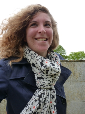 Adeline reportrice à terre pour la Mini Transat 2015